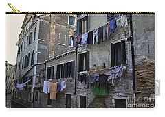 Hanging Out To Dry In Venice Carry-all Pouch