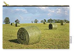 Hay Bales In Spring Carry-all Pouch