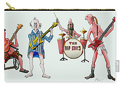 Sixties And Seventies Musicians Carry-all Pouch