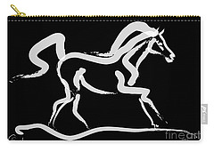 Horse-runner Carry-all Pouch by Go Van Kampen