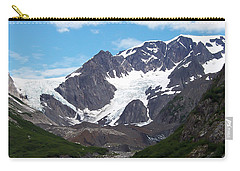 Carry-all Pouch featuring the photograph Ice And Snow by Aimee L Maher Photography and Art Visit ALMGallerydotcom