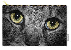 In A Cats Eye Carry-all Pouch