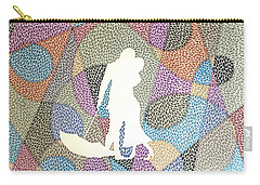 ...in Sunshine And In Rain Carry-all Pouch