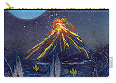Carry-all Pouch featuring the painting Interruption by Jason Girard
