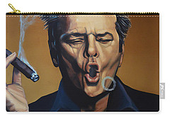 Jack Nicholson Painting Carry-all Pouch by Paul Meijering