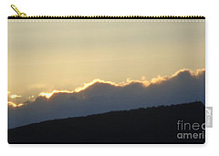 Carry-all Pouch featuring the photograph 2 - June Sunset 2 by Christina Verdgeline