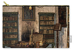 Junipero Serra Library In Carmel Mission Carry-all Pouch