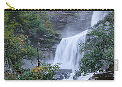Kaaterskill Falls Square Carry-all Pouch by Bill Wakeley