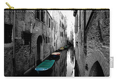 Carry-all Pouch featuring the photograph L'aqua Magica by Micki Findlay