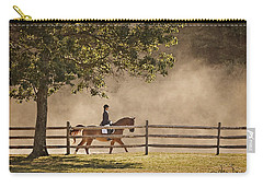Last Ride Of The Day Carry-all Pouch by Joan Davis