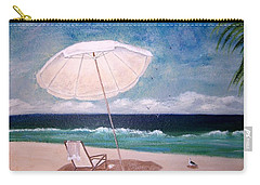 Carry-all Pouch featuring the painting Lazy Day by Jamie Frier