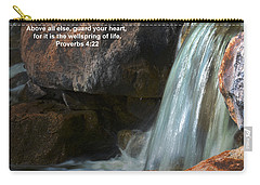 Life's Reflections Carry-all Pouch by Deb Halloran