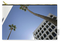 Carry-all Pouch featuring the photograph Looking Up In Beverly Hills by Cora Wandel