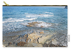 Carry-all Pouch featuring the photograph Low Tide by George Katechis