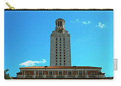 Main Building Of University Of Texas Carry-all Pouch by Panoramic Images