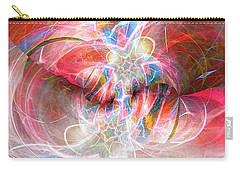 Carry-all Pouch featuring the digital art Metamorphosis  by Margie Chapman