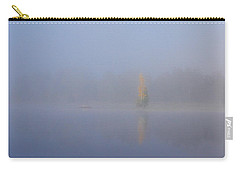 Misty Morning On A Lake Carry-all Pouch by Jouko Lehto