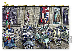 Mod Scooters And 60s Fashion Carry-all Pouch