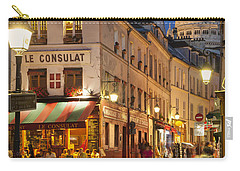 Montmartre Twilight Carry-all Pouch by Brian Jannsen