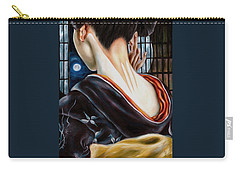 Carry-all Pouch featuring the painting Moon by Hiroko Sakai