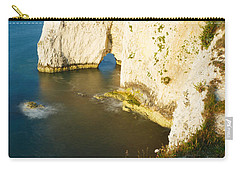 Morning Light At Old Harry Rocks Carry-all Pouch