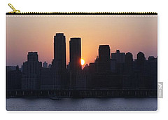 Carry-all Pouch featuring the photograph Morning On The Hudson by Lilliana Mendez