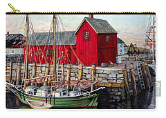 Motif  Number One Carry-all Pouch by Eileen Patten Oliver