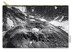 Carry-all Pouch featuring the photograph Mt St. Helen's Crater by David Millenheft