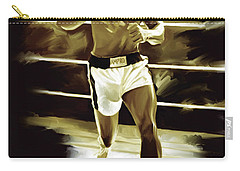 Muhammad Ali Boxing Artwork Carry-all Pouch