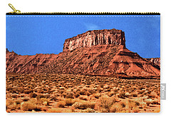 Carry-all Pouch featuring the painting National Navajo Tribal Park by Bob and Nadine Johnston