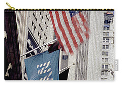 New York Stock Exchange Carry-all Pouch by Jon Neidert