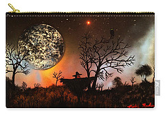 Night Of The Scarecrow  Carry-all Pouch by Michael Rucker