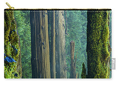 Northwest Forest    Carry-all Pouch by Mary Lee Dereske