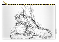 Nude Male Sketches 2 Carry-all Pouch