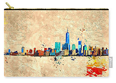 Nyc Grunge Carry-all Pouch by Daniel Janda