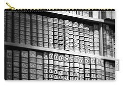 Old Books Carry-all Pouch by Chevy Fleet