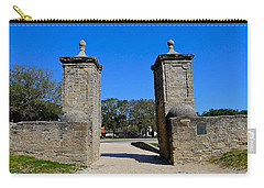 Old City Gates Of St. Augustine Carry-all Pouch