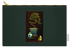 Old Man And The Tree Carry-all Pouch