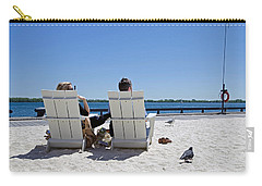 Carry-all Pouch featuring the photograph On The Waterfront by Keith Armstrong
