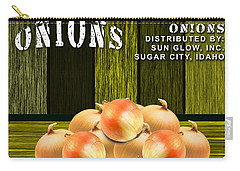 Onion Farm Carry-all Pouch