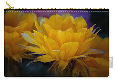Orange Cactus Flowers  Carry-all Pouch