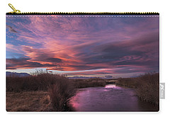 Owens River Sunset Carry-all Pouch