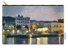 Panoramic View Of Spetses Town Carry-all Pouch