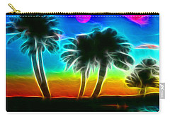 Carry-all Pouch featuring the photograph Paradise by Tammy Espino