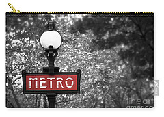 Paris Metro Carry-all Pouch