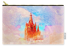 Carry-all Pouch featuring the photograph Parish Of St. Michael The Archangel by John  Kolenberg