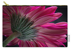 Pink Flower Carry-all Pouch by Edgar Laureano