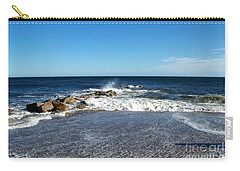 Carry-all Pouch featuring the photograph Plum Island Landscape by Eunice Miller