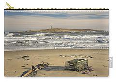 Popham Beach On The Maine Coast Carry-all Pouch by Keith Webber Jr