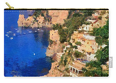 Positano Town In Italy Carry-all Pouch